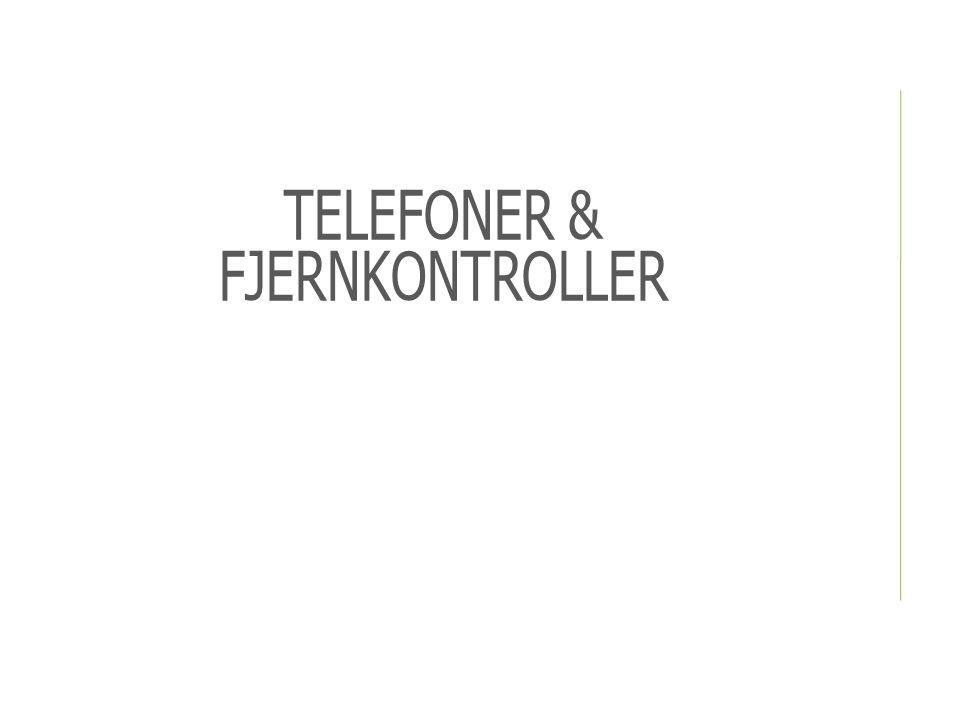 ENKLERE TELEFONER