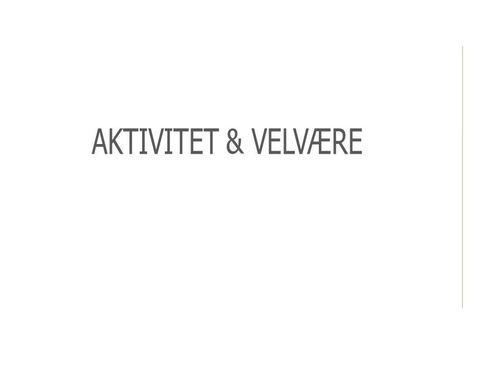 AKTIVITET & VELVÆRE