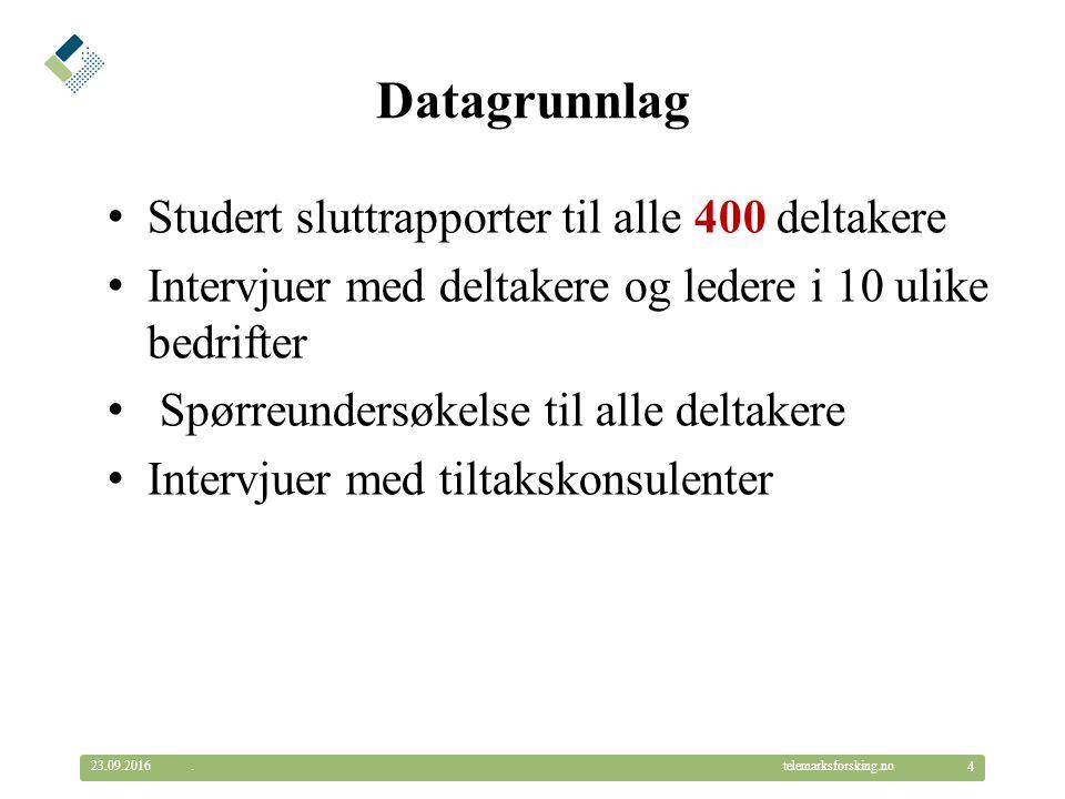 © Telemarksforsking telemarksforsking.no Språkopplæring på jobb Bevisstheten om arbeidsgivers ansvar for norskopplæringen varierer.