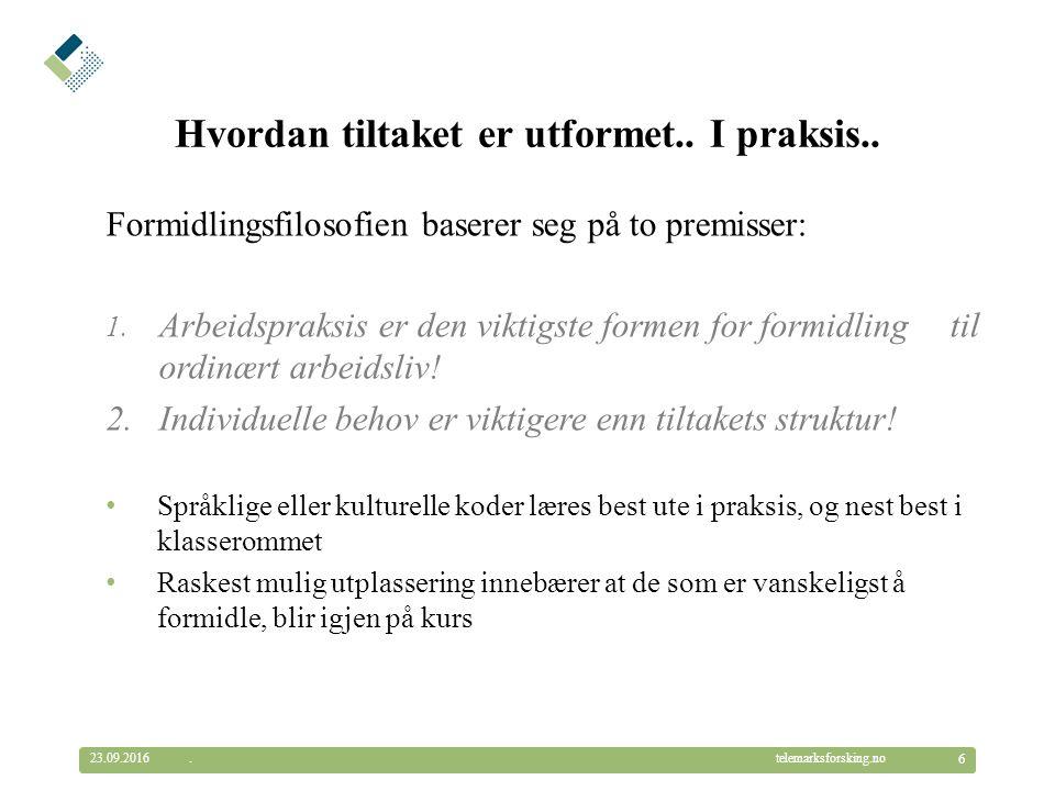 © Telemarksforsking telemarksforsking.no Diskriminering.