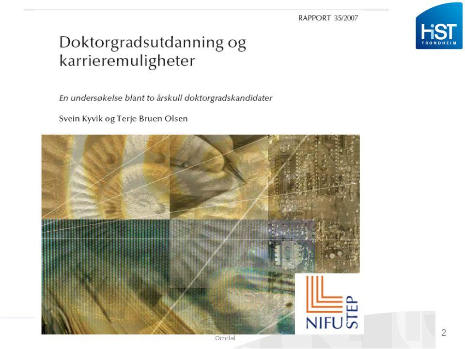 Seminar med stipendiater 09.06.09, Arnulf Omdal 23 Veiledningen: Evaluer.