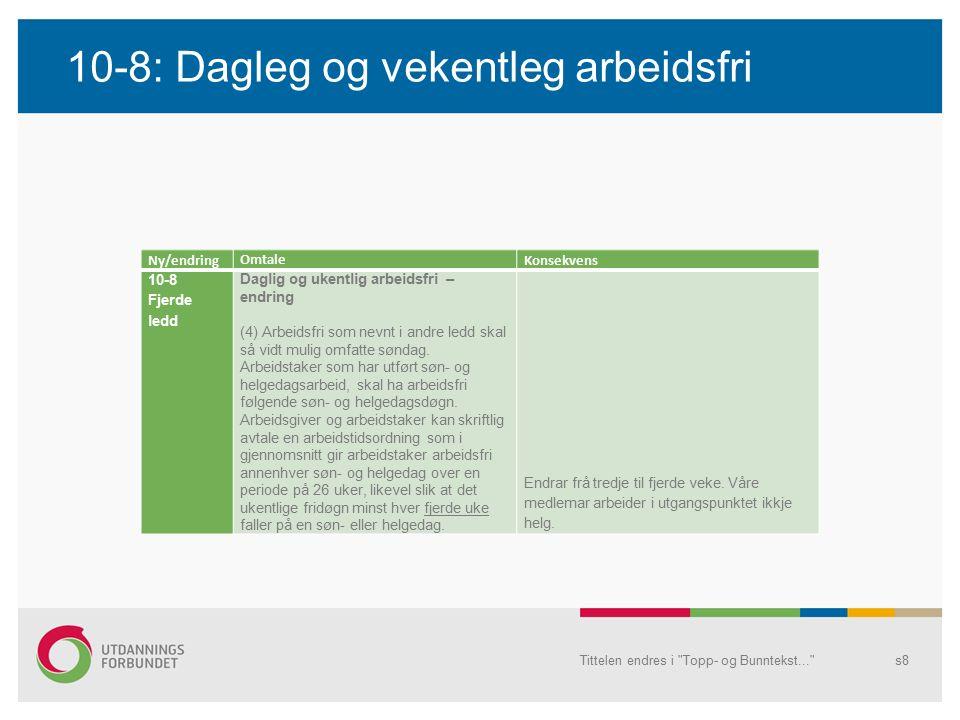 Case – ei særs aktuell problemstilling Tittelen endres i Topp- og Bunntekst... s19 01.08.2012 starta Tore som vikar(§ 14-9(1) b) på Storetunet skule med arbeidsavtale fram til 31.07.2013.