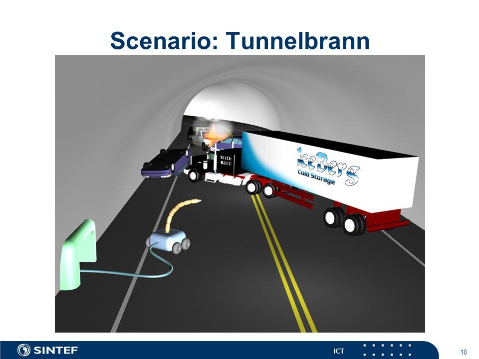ICT 10 Scenario: Tunnelbrann