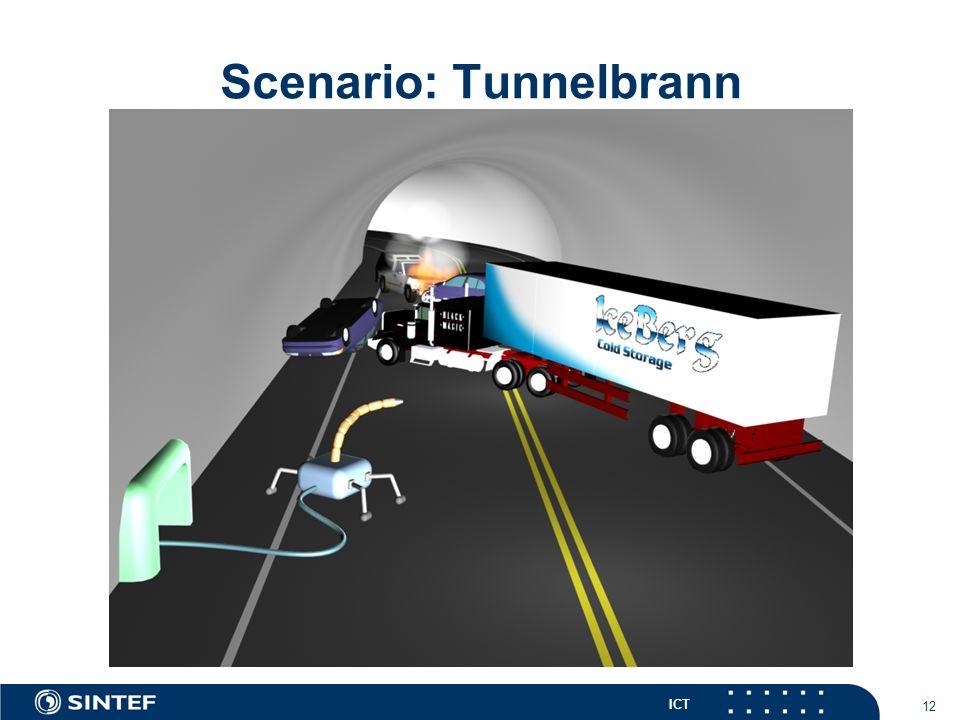 ICT 12 Scenario: Tunnelbrann