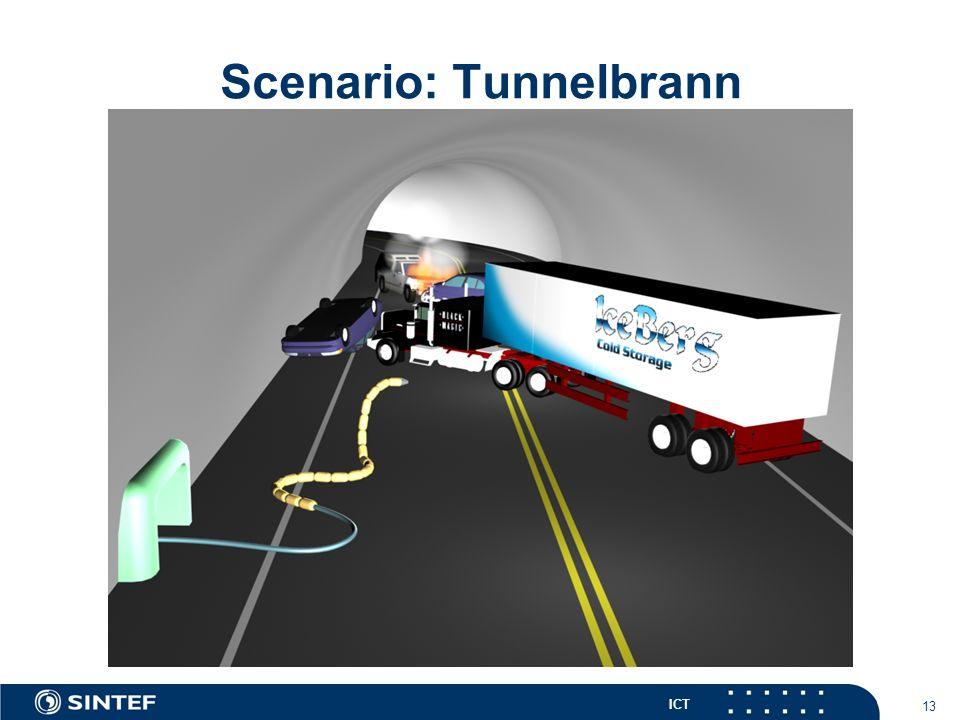 ICT 13 Scenario: Tunnelbrann
