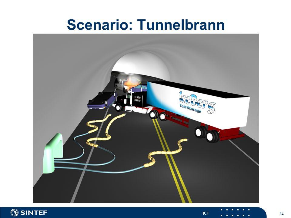 ICT 14 Scenario: Tunnelbrann