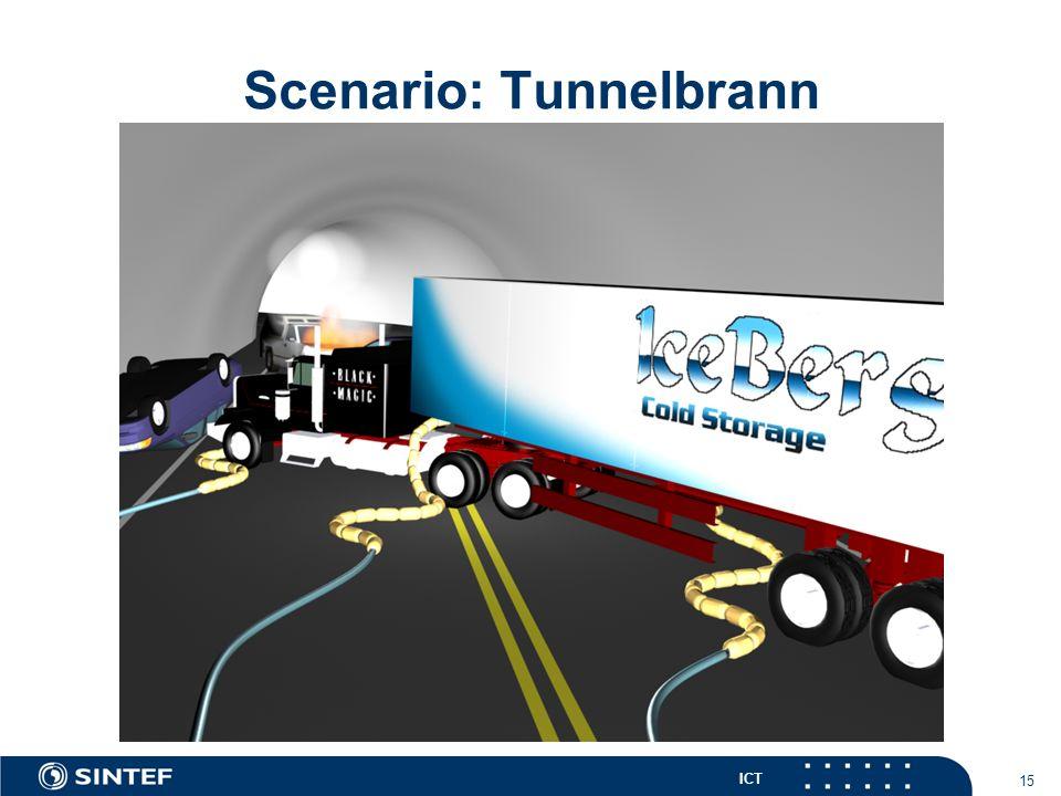 ICT 15 Scenario: Tunnelbrann