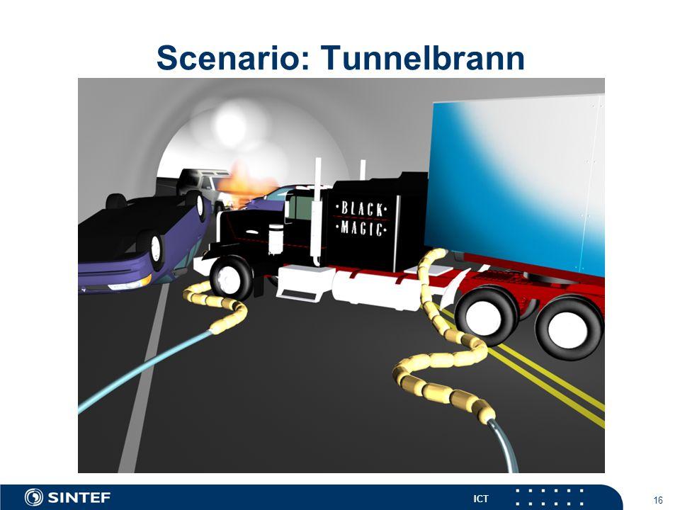 ICT 16 Scenario: Tunnelbrann