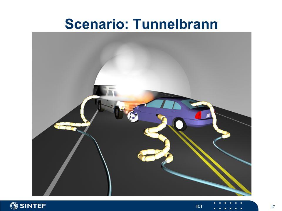 ICT 17 Scenario: Tunnelbrann
