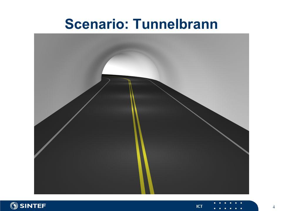 ICT 4 Scenario: Tunnelbrann
