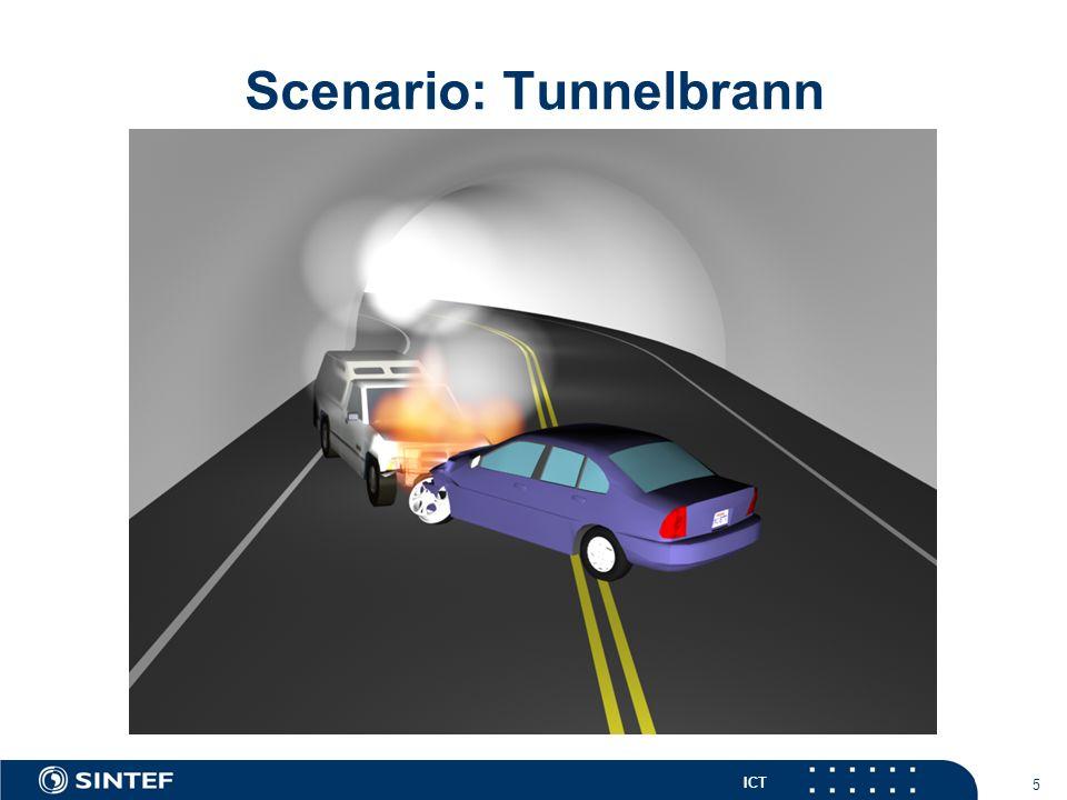 ICT 5 Scenario: Tunnelbrann