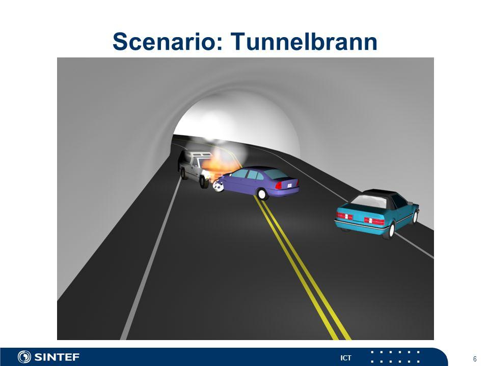 ICT 7 Scenario: Tunnelbrann