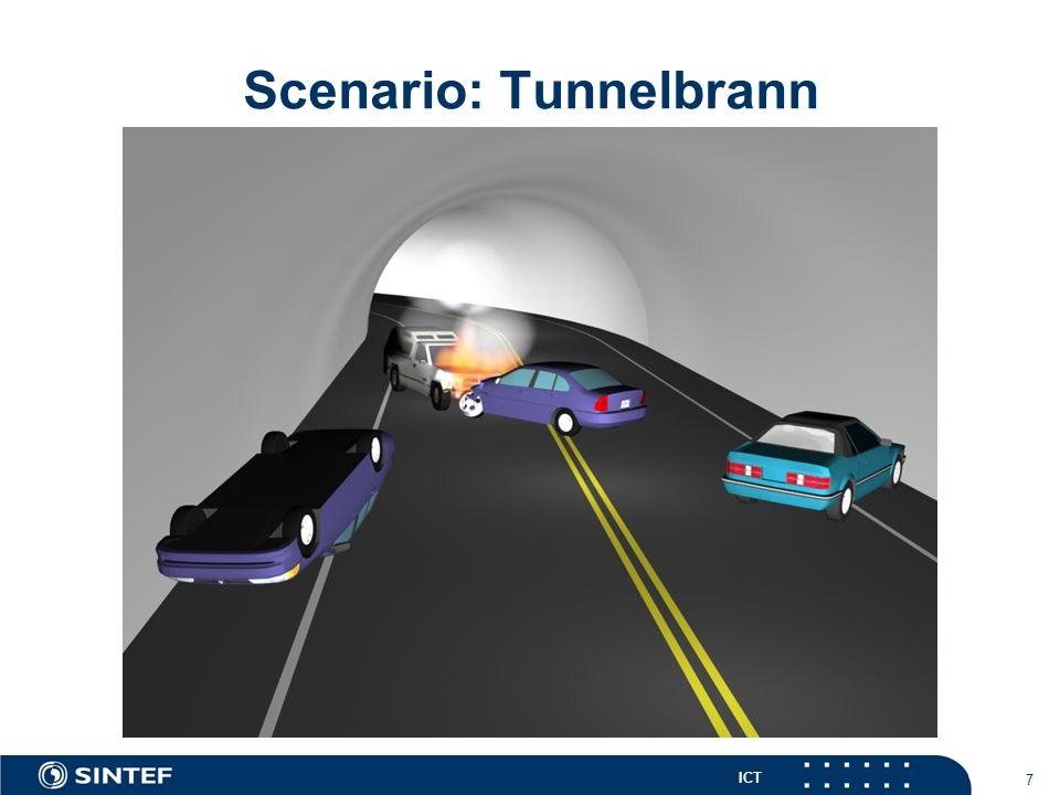 ICT 8 Scenario: Tunnelbrann