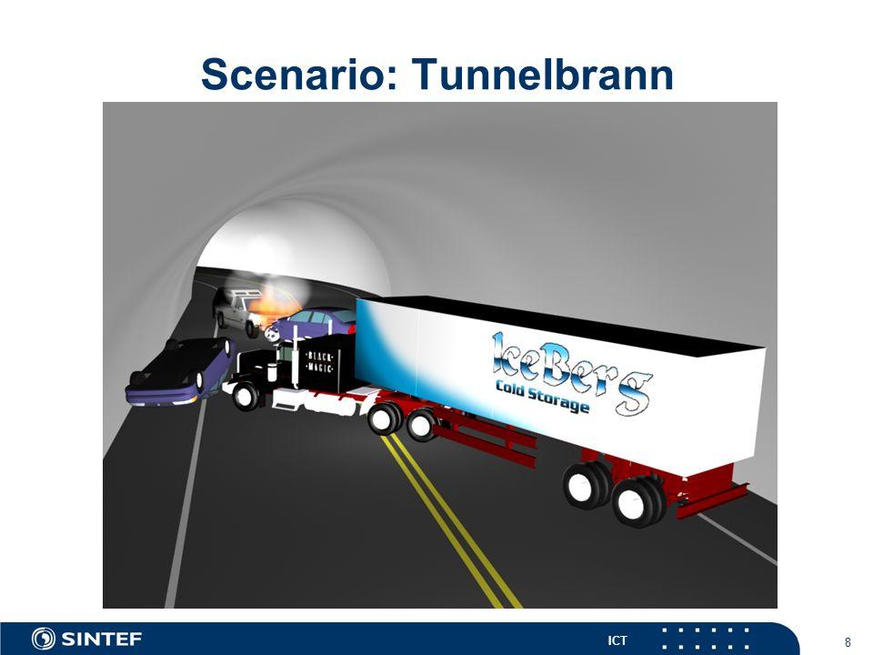ICT 9 Scenario: Tunnelbrann