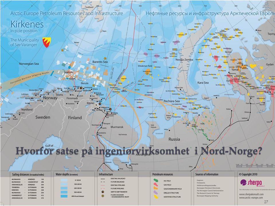 Hvorfor satse på ingeniørvirksomhet i Nord-Norge 27