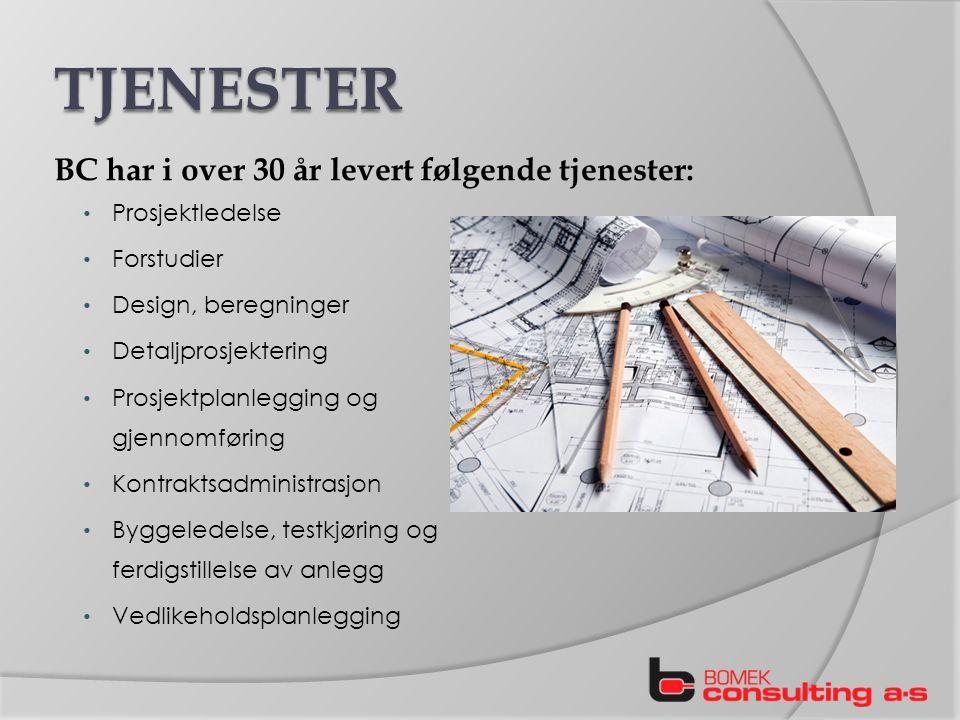 Konstruksjon og bygging av lagertanker for drivstoff, volum fra 500 til 100.000 m3 Rør, pumpestasjoner og kai for lasting og lossing Flere 100 prosjekter over 25 år 17