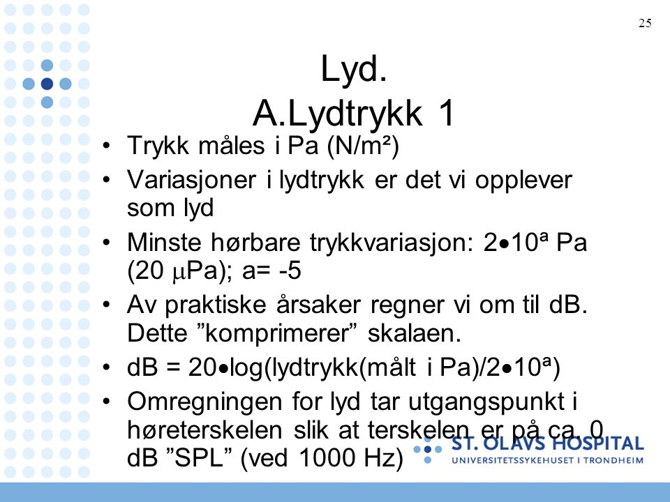 25 Lyd.