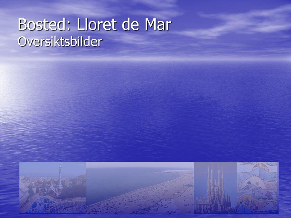 Bosted: Lloret de Mar Oversiktsbilder