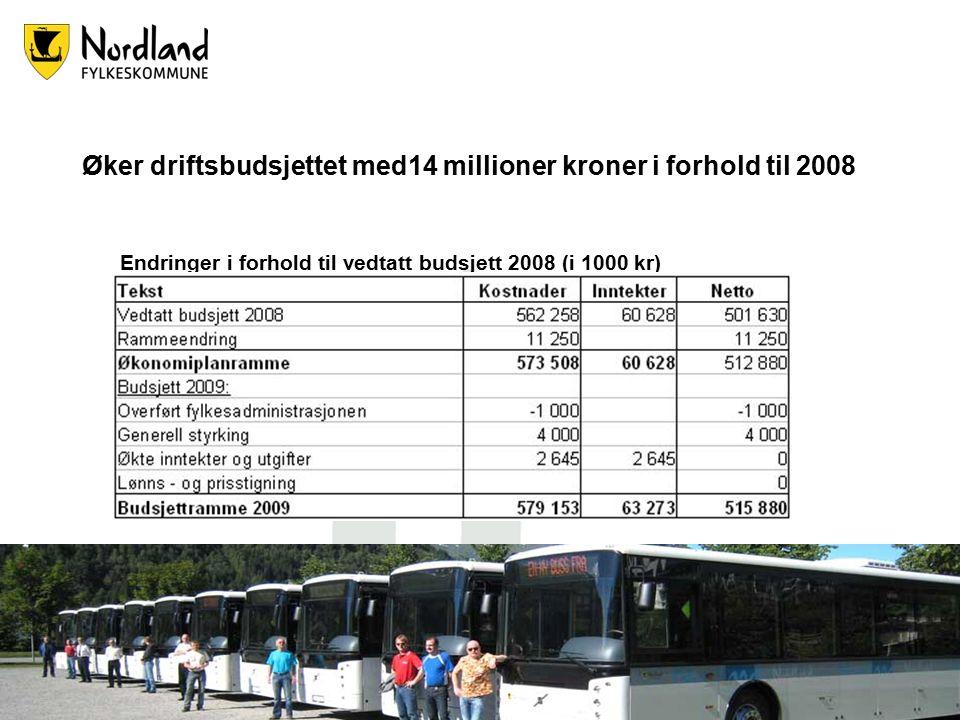 4 Vi skal investere 136 millioner kroner på fylkesveiene i Nordland Dette gir bedre trafikksikkerhet for nordlendingene.