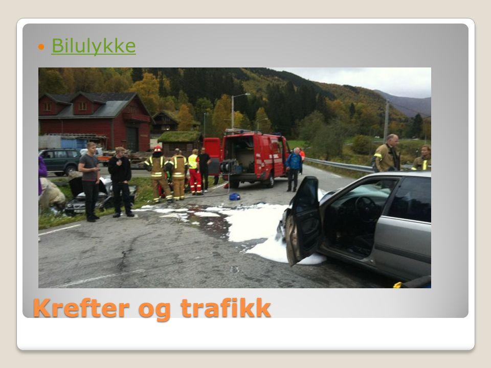 Krefter og trafikk Bilulykke