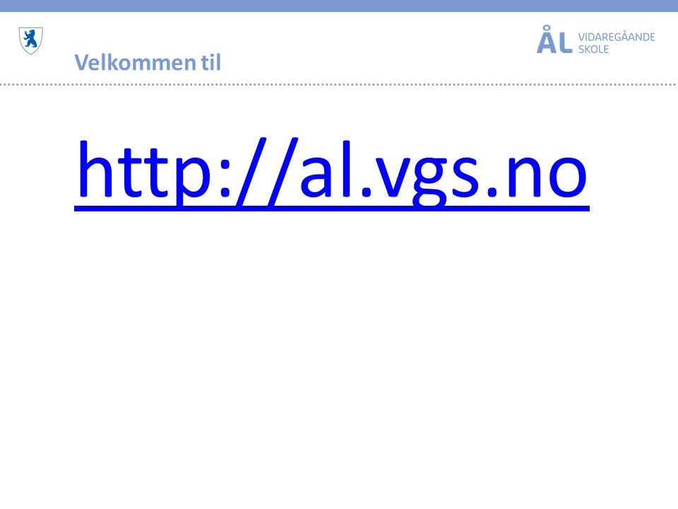 Velkommen til http://al.vgs.no