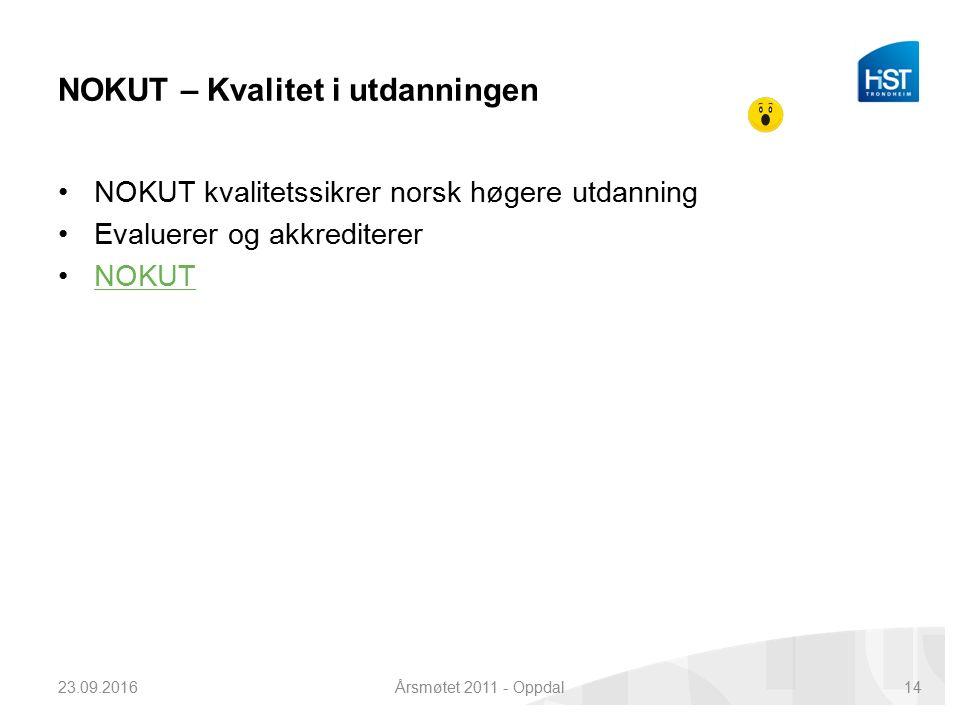 FoU info - Thorleif 23.09.2016Årsmøtet 2011 - Oppdal13