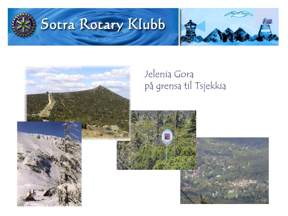 Jelenia Gora på grensa til Tsjekkia