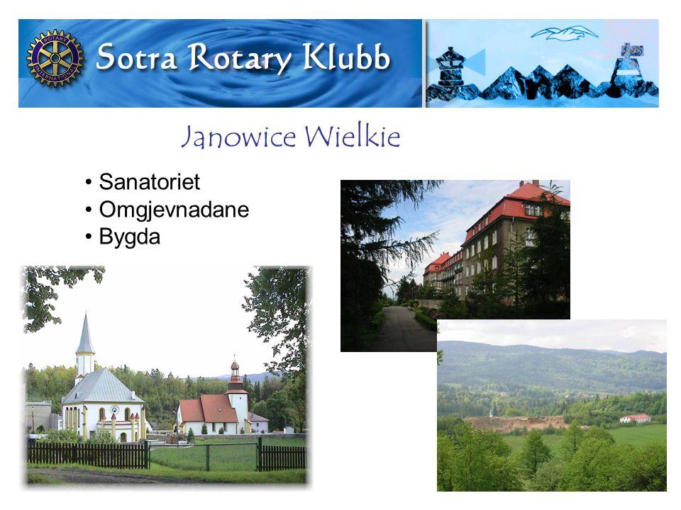 Sanatoriet Omgjevnadane Bygda Janowice Wielkie