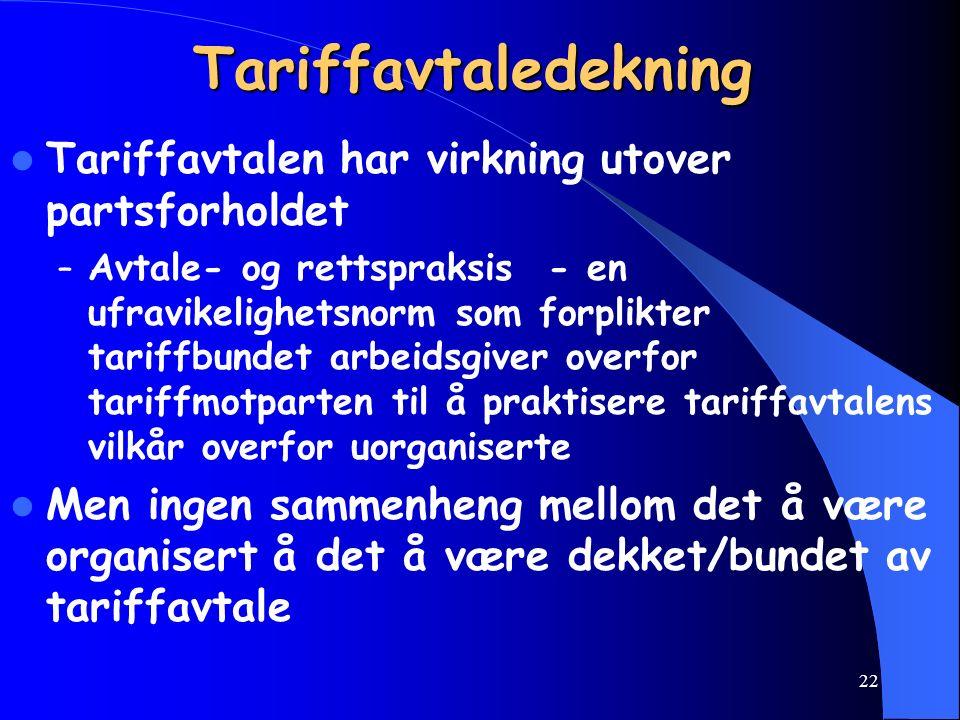 21 Tariffavtalens bindende virkning Partene har rådighet over tariffavtalen, kan Endre avtalen, avtale nye bestemmelser (også i tariffperioden) og for
