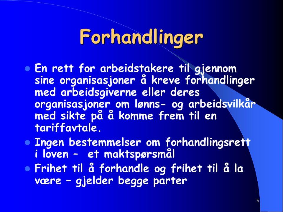 15 Fagforening, Arb.tvl.§ 1 nr. 3 Fagforening, Arb.tvl.