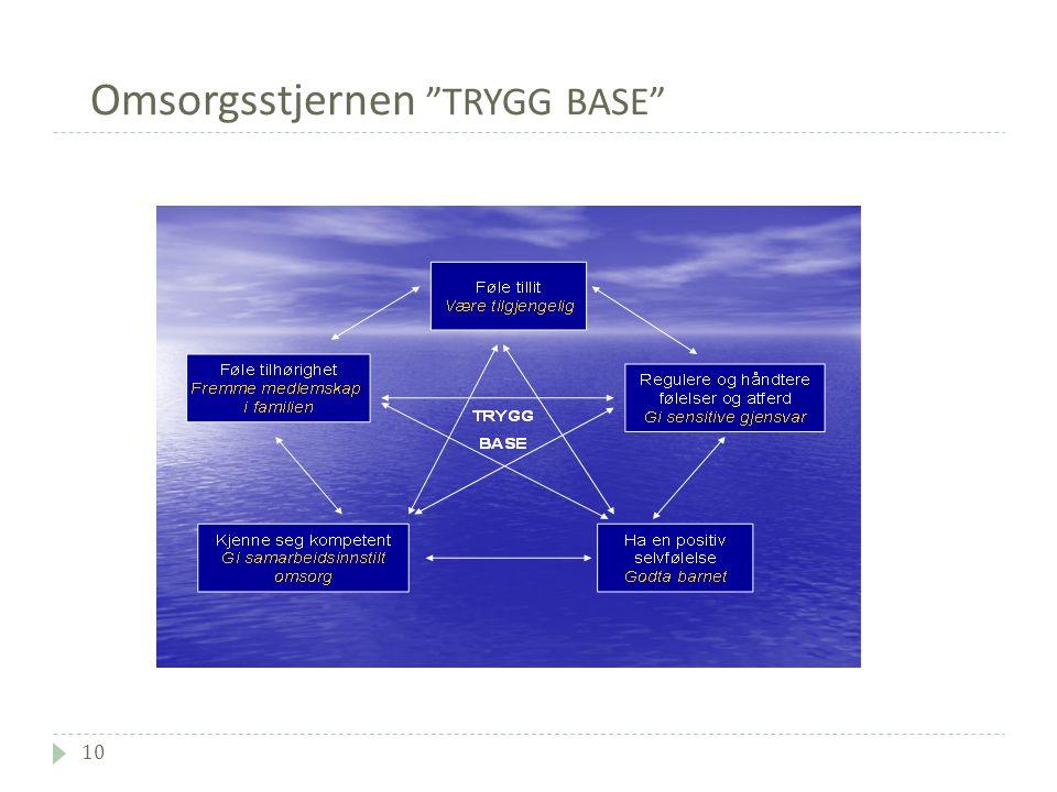 Omsorgsstjernen TRYGG BASE 10