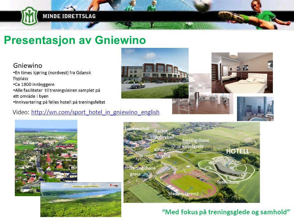 Presentasjon av Gniewino Video: