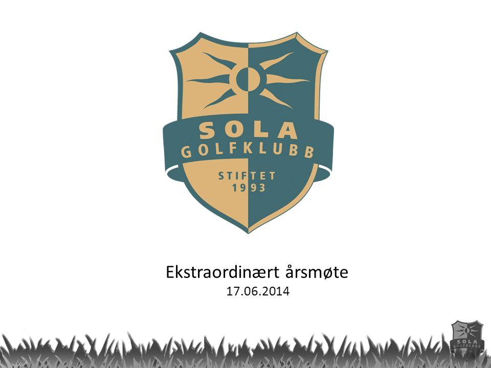 Ekstraordinært årsmøte 17.06.2014