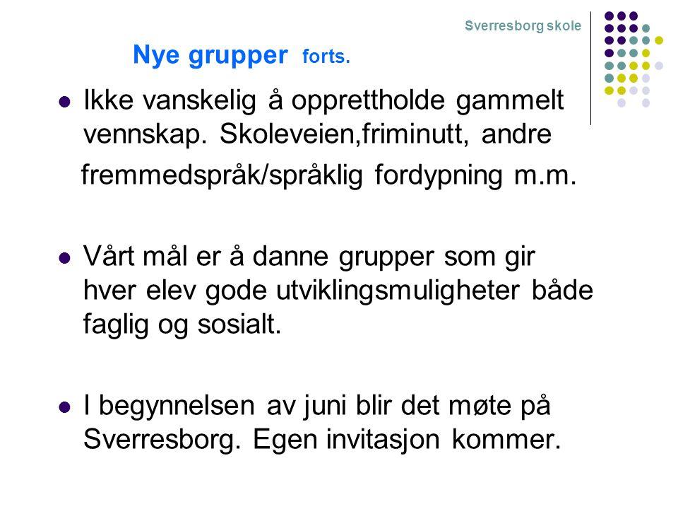 Sverresborg skole -Får din sønn/datter være hjemme alene når du/dere drar på hytta i helgene.