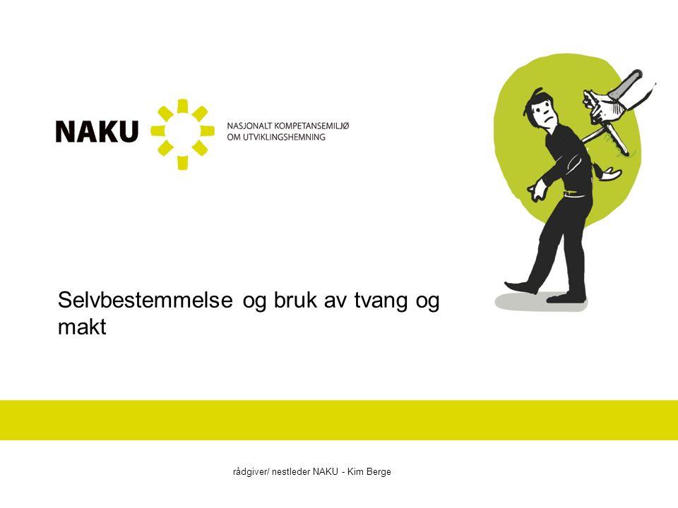 Selvbestemmelse De fleste i vårt samfunn tar retten til selvbestemmelse som en selvfølge og i vårt velferdssamfunn blir aktørskap og selvbestemmelse i økende grad vektlagt i relasjoner mellom forvaltningen og brukere (Sandbæk 2001 i Ellingsen og Kittelsaa 2010).