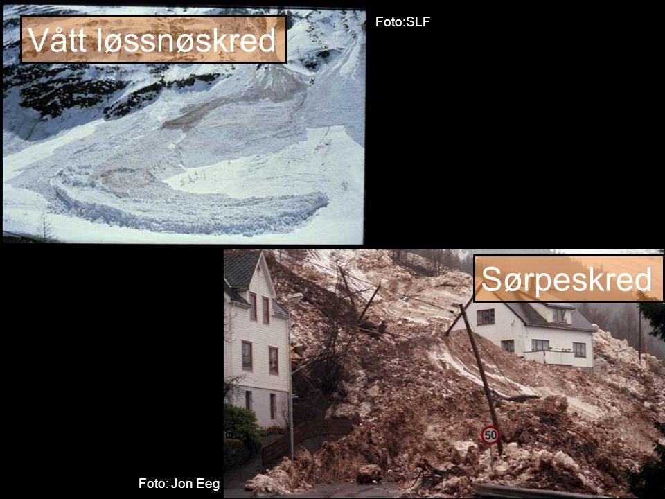 Norges vassdrags- og energidirektorat Viktige indikasjoner på ustabile forhold ■ Vanntilførsel i snødekket, spesielt OBS hvis raskt ■ Lagdelt snø