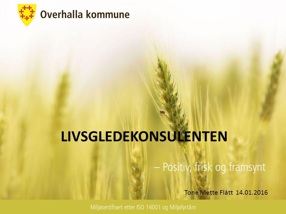 LIVSGLEDEKONSULENTEN Tone Mette Flått 14.01.2016