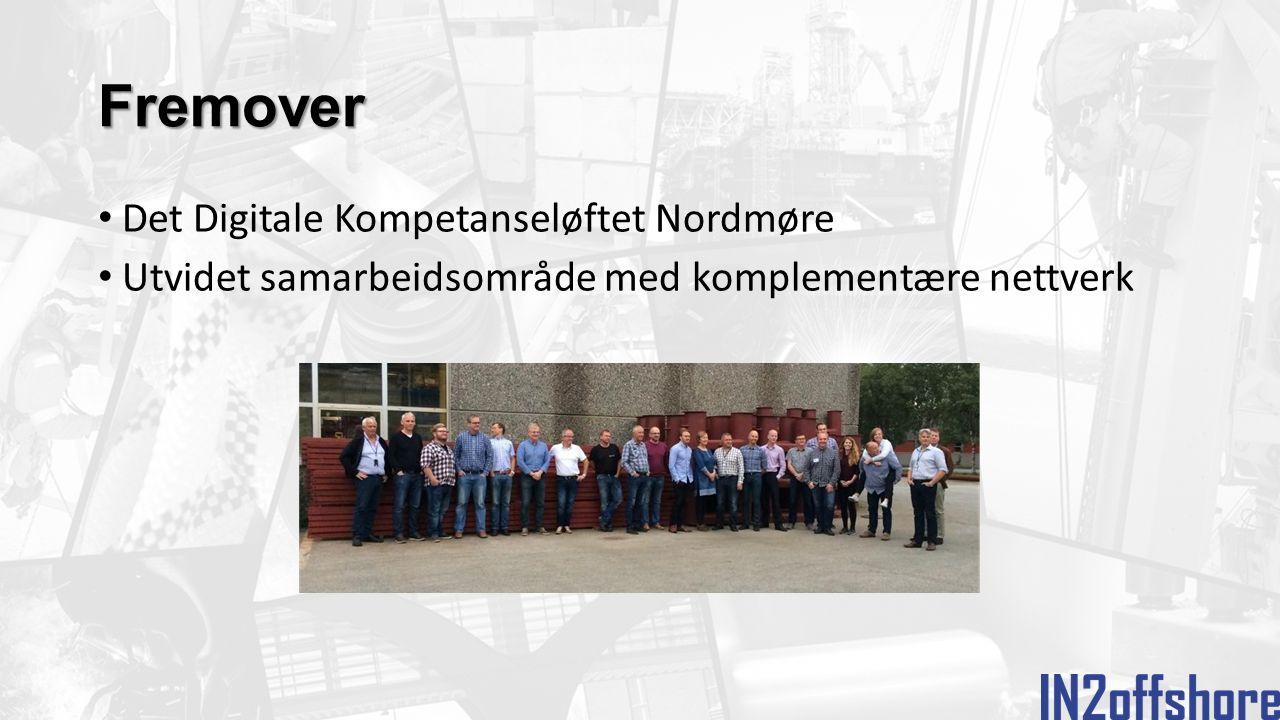 Fremover Det Digitale Kompetanseløftet Nordmøre Utvidet samarbeidsområde med komplementære nettverk