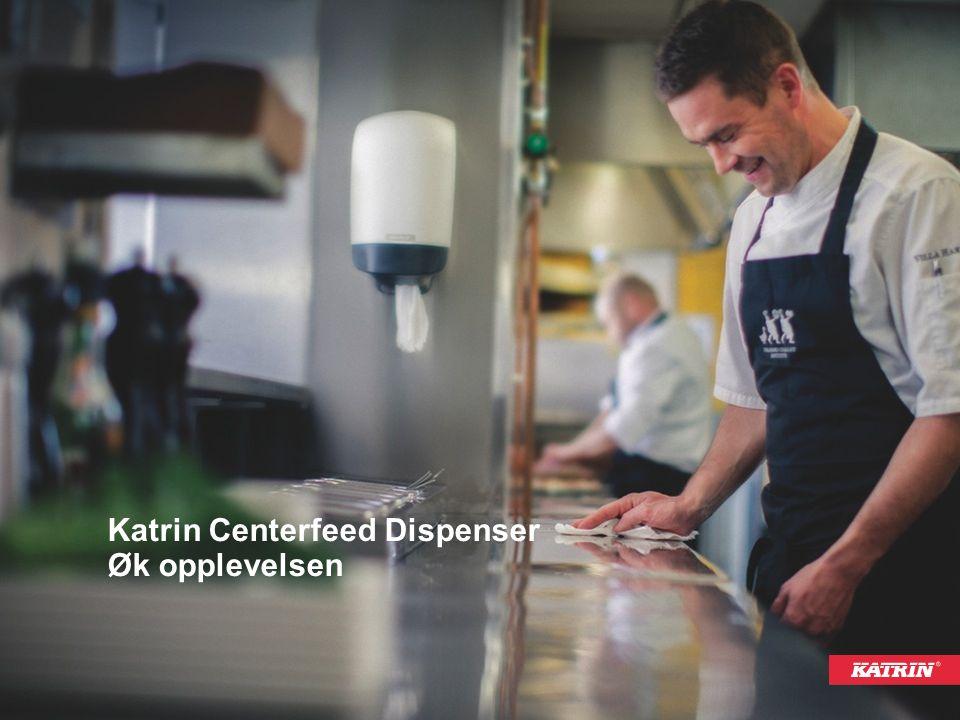 Katrin Centerfeed Dispenser Øk opplevelsen