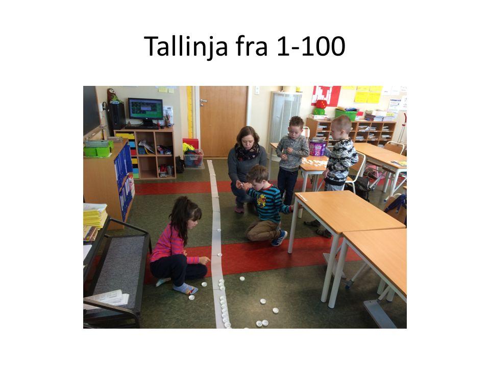 Tallinja fra 1-100