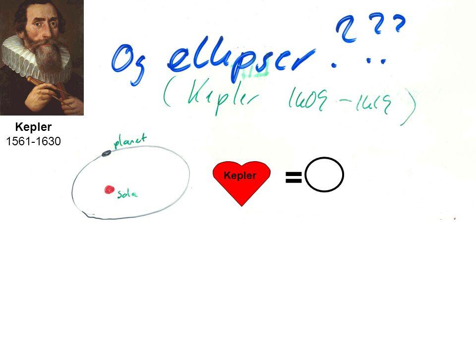 Kepler 1561-1630 = Kepler Mentalt sett