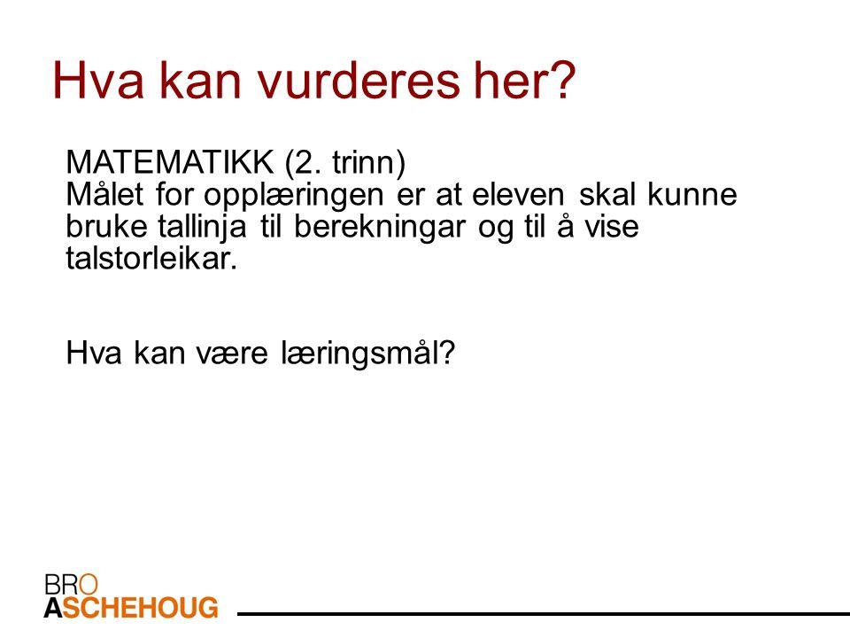 MATEMATIKK (2.