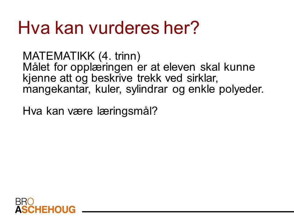 MATEMATIKK (4.