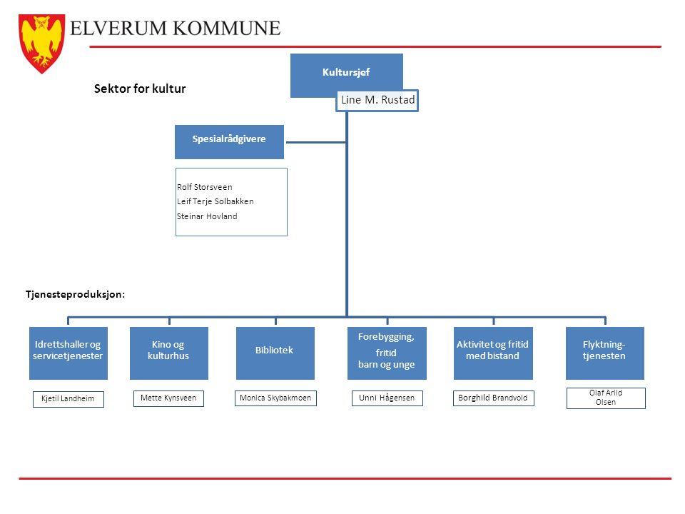 Kultursjef Line M.