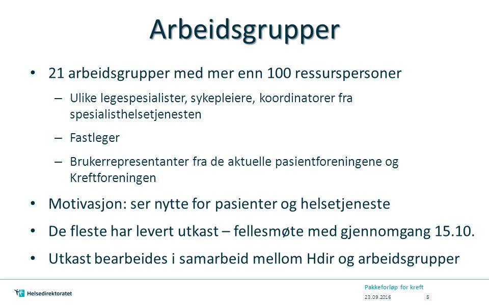 Implementering i Danmark Pakkeforløp for kreft oppfattes som en implementerings-suksess i dansk helsevesen Hva var de avgjørende faktorer for vellykket implementering?