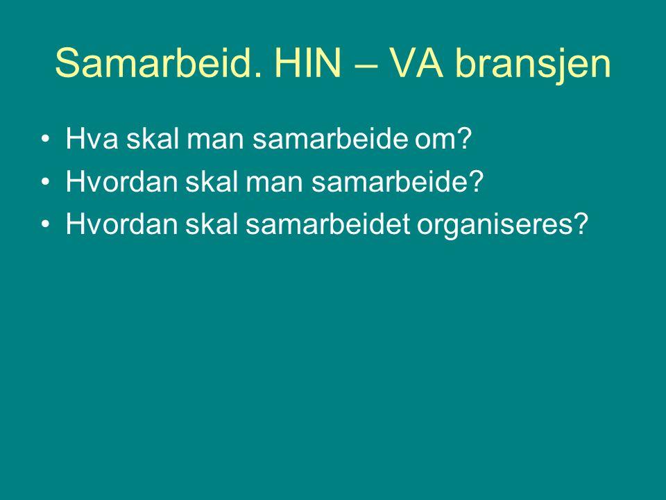 Samarbeidsavtale HIN -Veg
