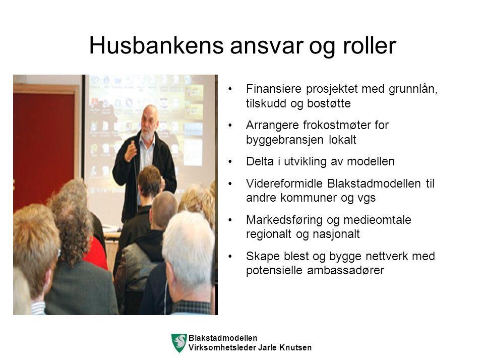 Nøkkelinfo oppsummering Roller: Kommunen er utbygger.