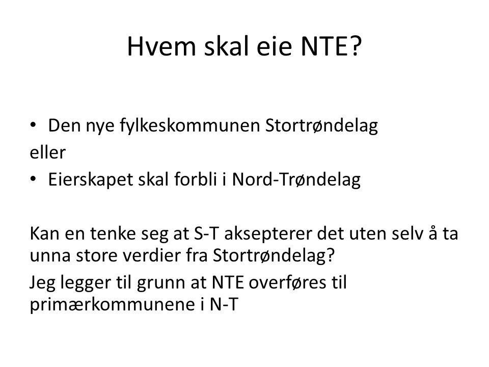 Hvem skal eie NTE.