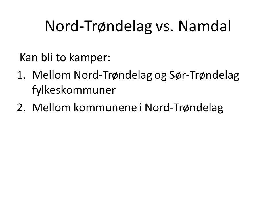 Nord-Trøndelag vs.