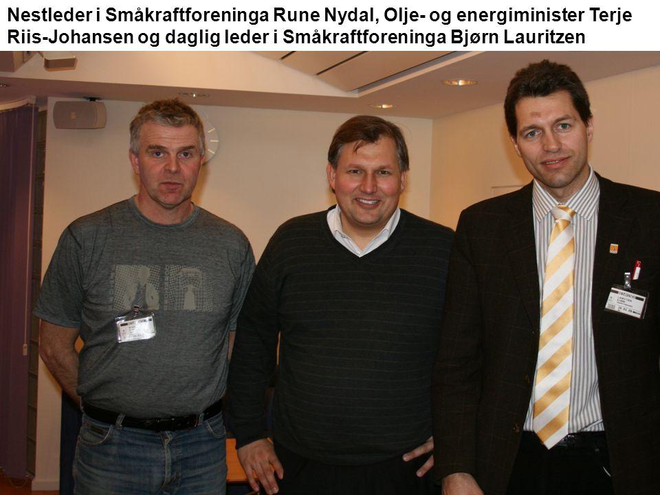 Skal du bygge småkraftverk.Da bør du ta turen til Småkraftmessa i Ålesund 18.-19.
